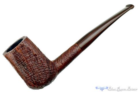 Xin Li (Zhiputang Pipes) 1/2 Bent Dublin with Plateau Sitter UNSMOKED Estate Pipe