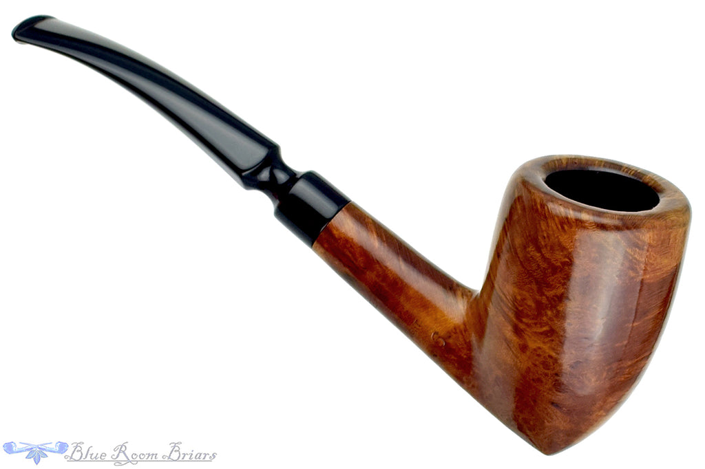 Blue Room Briars is proud to present this Celius Night 6 1/2 Bent Tall Acorn Sitter Estate Pipe