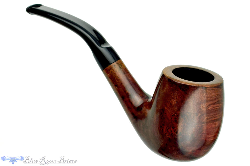 Blue Room Briars is proud to present this Barling Garnet Grain 5119 (Post Transition) 1/2 Bent Billiard Estate Pipe