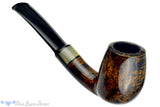 Blue Room Briars is proud to present this Erik Nielsen Pipe 1/4 Bent Billiard with Horn