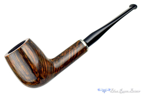Savinelli One 104 Rusticated Billiard Sitter (6mm Filter) Estate Pipe