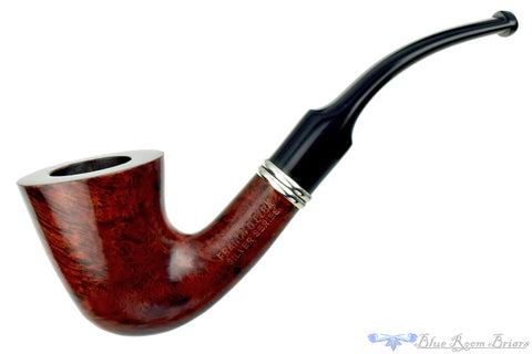 My Own Blend 745 Sandblast Billiard with Nickel Estate Pipe