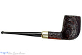 Stanwell DM (1989 Make) Sandblast Billiard with Brass and Military Mount Estate Pipe