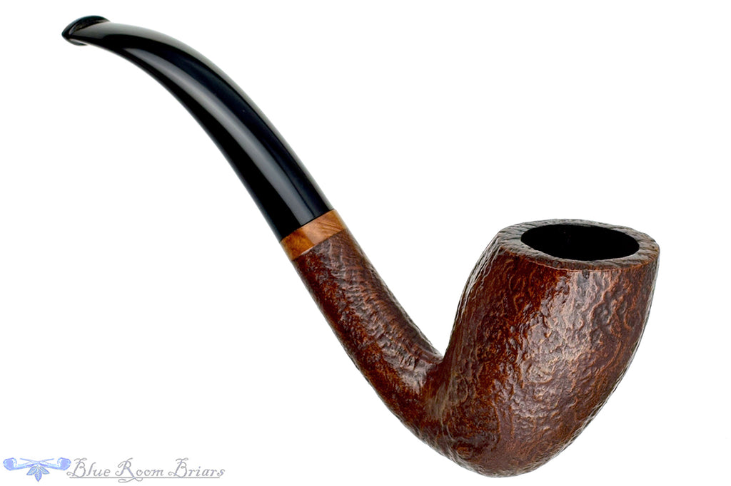 Blue Room Briars is proud to present this Kriswill Count Sandblast Duck Estate Pipe