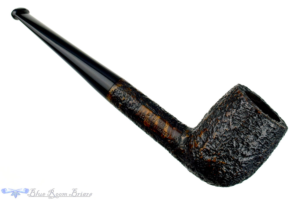 Blue Room Briars is proud to present this Bushey Sturman 32 Rusticated Billiard Estate Pipe