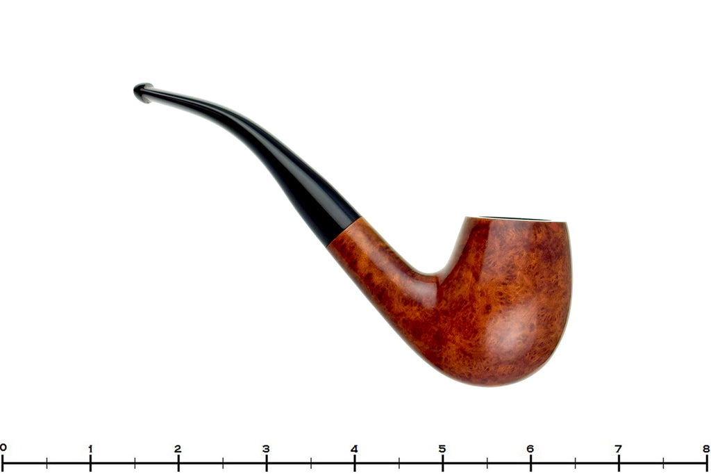Blue Room Briars is proud to present this Georg Jensen 1/2 Bent Smooth Egg Estate Pipe