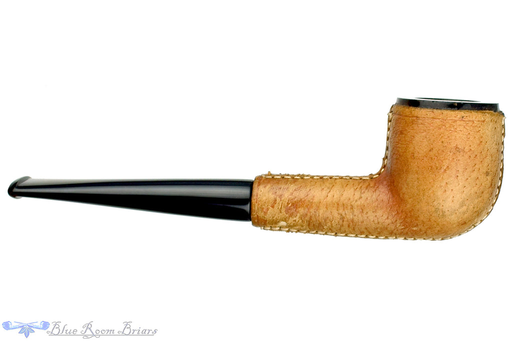 Blue Room Briars is proud to present this Marx Meerschaum Pot with Leather Estate Pipe