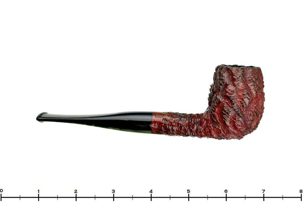 Blue Room Briars is proud to present this Mistella Gem Series Carved Billiard Estate Pipe