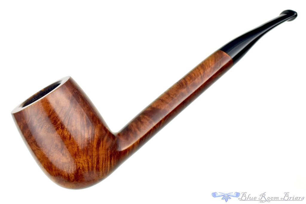Blue Room Briars is proud to present this Savinelli Oscar Aged Briar 812 1/8 Bent Canadian Estate Pipe