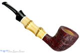 Blue Room Briars is proud to present this Doug Finlay Pipe Ring Blast Dublin with Bamboo and Ivorite