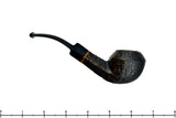 Blue Room Briars is proud to present this Royal Oak 623 Bent Rusticated Bulldog with Replacement Stem Estate Pipe