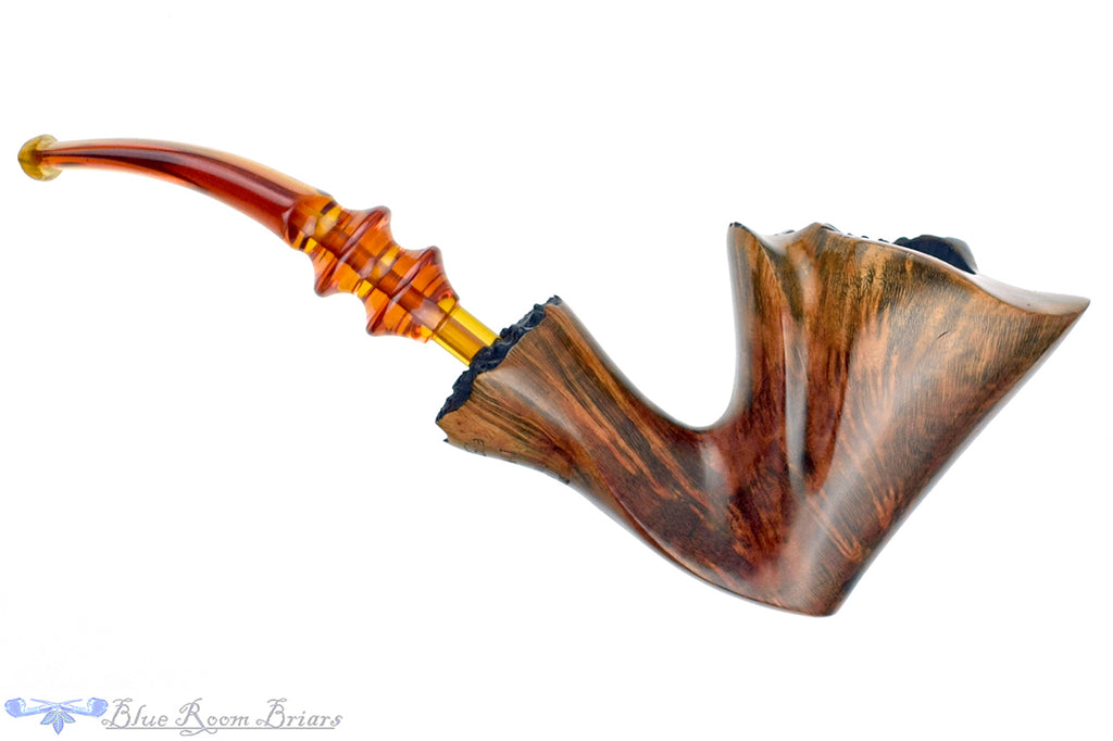 Blue Room Briars is proud to present this Ben Wade Golden Matt Bent Freehand with Plateaux Estate Pipe