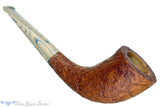 Blue Room Briars is proud to present this Bill Walther Pipe Tan Blast Horn with Delft Brindle