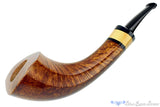 Blue Room Briars is proud to present this C. Kent Joyce Pipe Oliphant with Boxwood