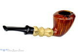 Blue Room Briars is proud to present this Michail Kyriazanos Pipe 1/4 Bent Bamboo Acorn with Plateau