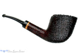 Blue Room Briars is proud to present this RC Sands Pipe 1/4 Bent Large Ring Blast Yachtsman with Plateau