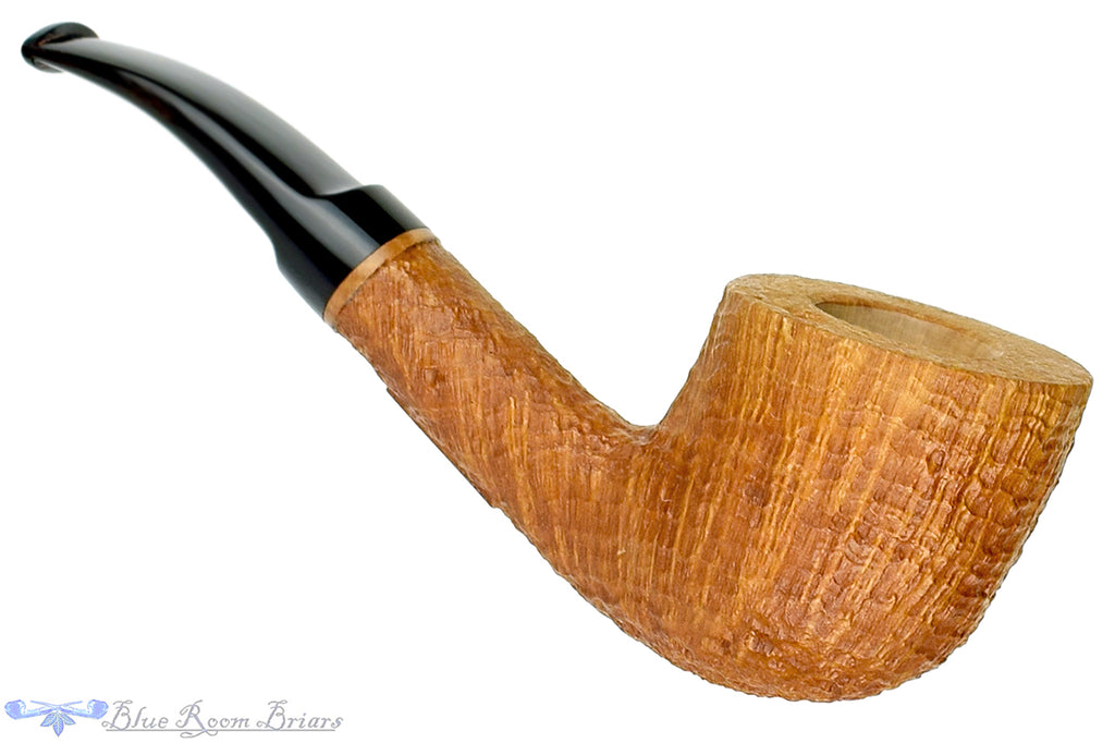 Blue Room Briars is proud to present this RC Sands Pipe 1/4 Bent Tan Blast Billiard