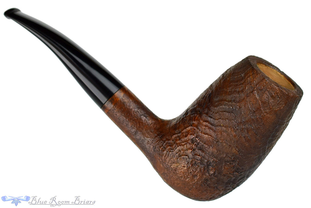 RC Sands Pipe Sandblast Ostrich Egg Sitter, Blue Room Briars, sandblast, dark blast, tall, stack, chimney, stacked, egg, taper, tapered stem, black stem, chuck sands, ohio, us, usa, america, american, united states, made in the usa, sitter pipes, artisan pipe, new pipes, production pipe, factory pipe, budget pipe, briar, briar pipe, tobacco pipe, wood pipe, wooden pipe, briar-pipe, smoking pipe, smoking hobby, ebonite, vulcanite, pipe stem, pipe mortise, stem, mortise, button, draft hole, grain, estate pipe, estate, refurbished, used pipe, refurbished pipe, estate, briar, briar pipe, budget pipe, tobacco pipe, old pipe, wood pipe, wooden pipe, smoking pipe, smoking hobby, ebonite, vulcanite, pipe stem, pipe mortise, stem, mortise, button, draft hole, grain , artisan, artisan pipe, new pipe, new, smoking hobby, ebonite, vulcanite, pipe stem, pipe mortise, stem, mortise, button, draft hole, grain, hand made, handmade, hand-made, hand crafted, handcrafted, hand-crafted, high grade, high-grade, highgrade, hand carved, hand-carved, handcarved, hand cut, handcut, hand-cut