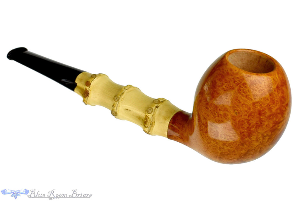 Charl Goussard Pipe Pear with Bamboo, Blue Room Briars, pear, smooth, straight grain, cross grain, birdseye, artisan pipe, new pipe, three knuckles, 3 knuckle bamboo, taper, tapered stem, straight pipe, sitter pipe, goussard pipes, south africa, cape town, production pipe, factory pipe, budget pipe, briar, briar pipe, tobacco pipe, wood pipe, wooden pipe, briar-pipe, smoking pipe, smoking hobby, ebonite, vulcanite, pipe stem, pipe mortise, stem, mortise, button, draft hole, grain, estate pipe, estate, refurbished, used pipe, refurbished pipe, estate, briar, briar pipe, budget pipe, tobacco pipe, old pipe, wood pipe, wooden pipe, smoking pipe, smoking hobby, ebonite, vulcanite, pipe stem, pipe mortise, stem, mortise, button, draft hole, grain , artisan, artisan pipe, new pipe, new, smoking hobby, ebonite, vulcanite, pipe stem, pipe mortise, stem, mortise, button, draft hole, grain, hand made, handmade, hand-made, hand crafted, handcrafted, hand-crafted, high grade, high-grade, highgrade, hand carved, hand-carved, handcarved, hand cut, handcut, hand-cut