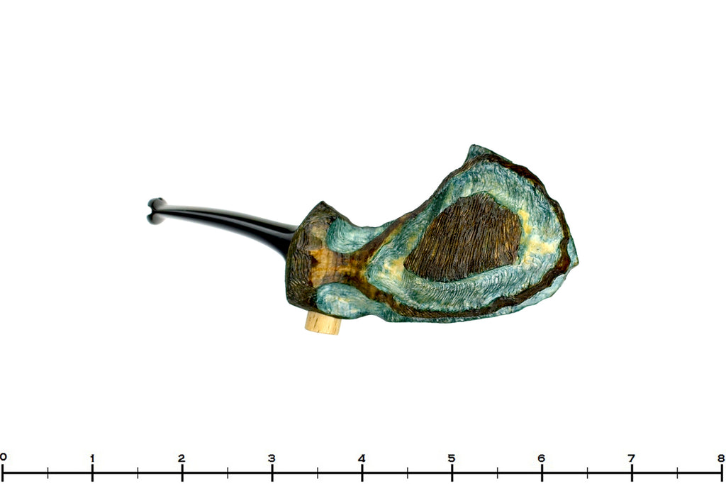 Blue Room Briars is proud to present this Roger Wallenstein Pipe Blue Wartfish