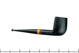 Charl Goussard Black Blast Billiard with Knysna Boxwood Estate Pipe
