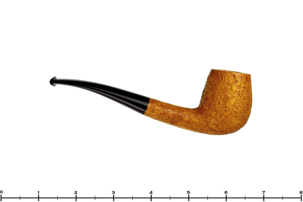 Jesse Jones Pipe 1/8 Bent Tan Blast Brandy
