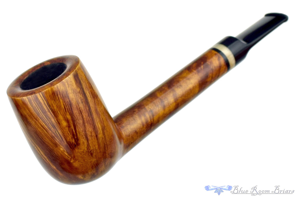Blue Room Briars is proud to present this Brian Madsen Pipe Lovat with Horn Insert