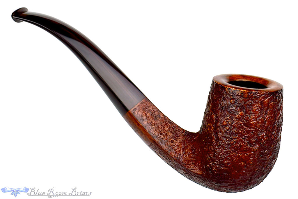 Jesse Jones Pipe 1/2 Bent Sandblast Diamond Shank Billiard, Blue Room Briars, brown blast, sand blast, ring blast, diamond shank, bent billiard, rounded rim, smooth rim, red, dark blast, taper, tapered stem, half bent billiard, bent billiard, classic, artisan pipe, traditional, bent diamond shank, us, usa, american, america, united states, made in the usa, production pipe, factory pipe, budget pipe, briar, briar pipe, tobacco pipe, wood pipe, wooden pipe, briar-pipe, smoking pipe, smoking hobby, ebonite, vulcanite, pipe stem, pipe mortise, stem, mortise, button, draft hole, grain, estate pipe, estate, refurbished, used pipe, refurbished pipe, estate, briar, briar pipe, budget pipe, tobacco pipe, old pipe, wood pipe, wooden pipe, smoking pipe, smoking hobby, ebonite, vulcanite, pipe stem, pipe mortise, stem, mortise, button, draft hole, grain , artisan, artisan pipe, new pipe, new, smoking hobby, ebonite, vulcanite, pipe stem, pipe mortise, stem, mortise, button, draft hole, grain, hand made, handmade, hand-made, hand crafted, handcrafted, hand-crafted, high grade, high-grade, highgrade, hand carved, hand-carved, handcarved, hand cut, handcut, hand-cut