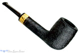 Blue Room Briars is proud to present this Jerry Crawford Pipe Black Blast Lovat with Brindle and Spalted Tamarind