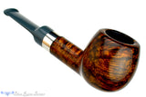 Blue Room Briars is proud to present this Sabina Santos Pipe Apple with Silver Band