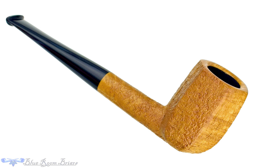 Jesse Jones Pipe 2320 Tan Blast Panel Billiard with Midnight Blue Brindle