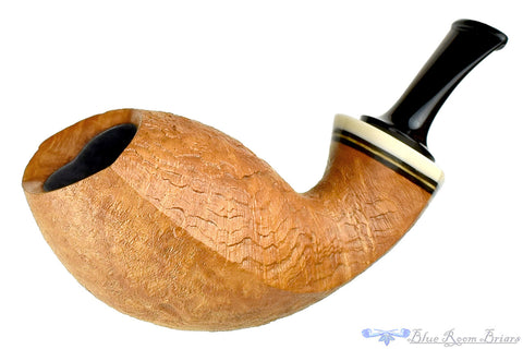 Nate King Pipe 409 Smooth Mushroom Sitter