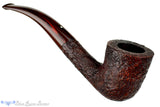 Dunhill Cumberland 4114 (2001 Make) 1/4 Bent Sandblast Dublin UNSMOKED Estate Pipe at Blue Room Briars