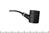 Todd Harris Pipe 1/4 Bent Black Blast Poker, Blue Room Briars
