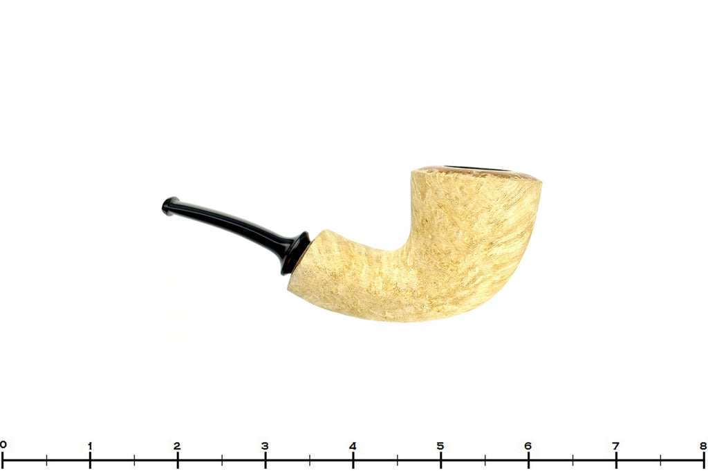 Blue Room Briars is proud to present this Benjamin Westerheide Pipe 1/4 Bent Blonde Driftwood Wide Shank Dublin with Brass