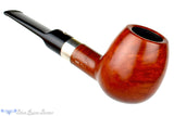 T. Christiano Metamorfosi Apple Sitter (6mm Filter) with Silver Band Pipe at Blue Room Briars