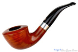 T. Christiano Metamorfosi 1/4 Bent Dublin (6mm Filter) with Silver Band Pipe at Blue Room Briars