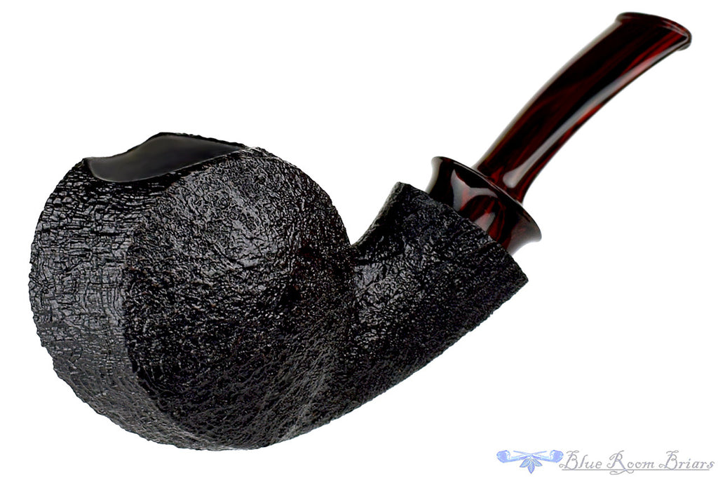 Bill Shalosky Pipe 315 Black Blast Blowfish Nosewarmer at Blue Room Briars