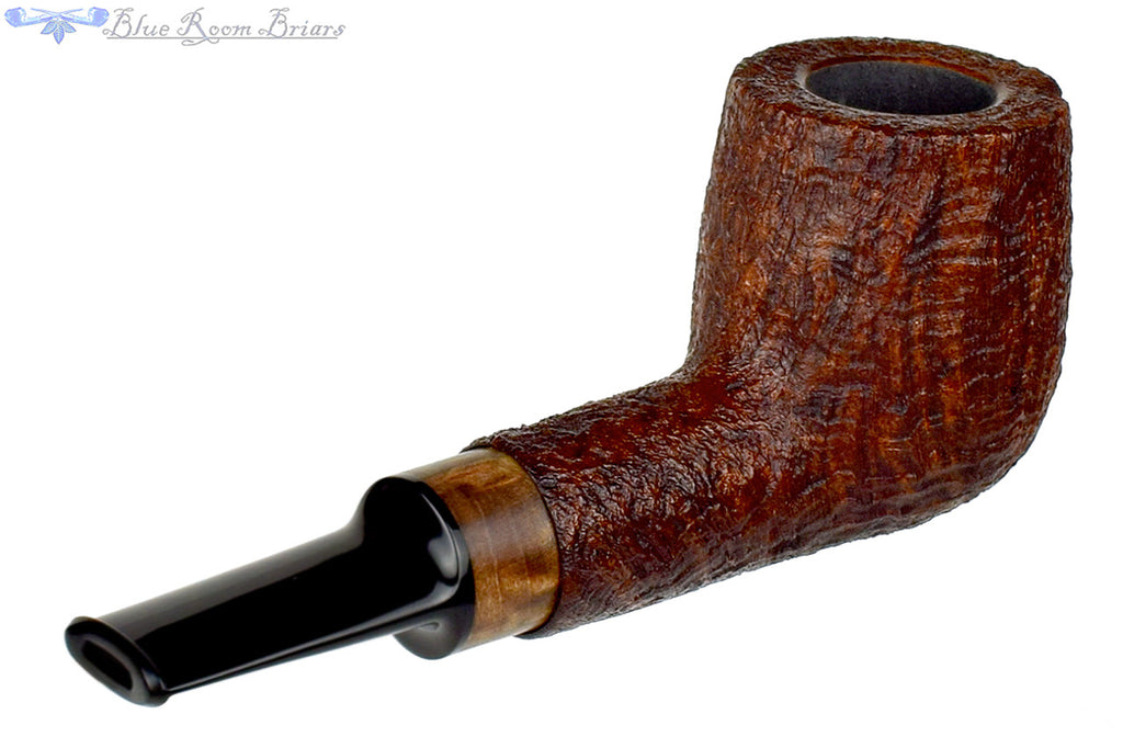 Bill Shalosky Pipe 316 Ring Blast Lovat with Walnut Insert