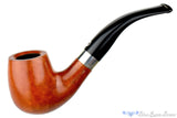 T. Cristiano Pipe Metamorfosi A502 (9mm Filter) 1/2 Bent Billiard with Silver at Blue Room Briars
