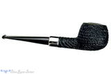 Blue Room Briars is proud to present this Brian Madsen Pipe Rusticated Apple with Nickel Silver Band