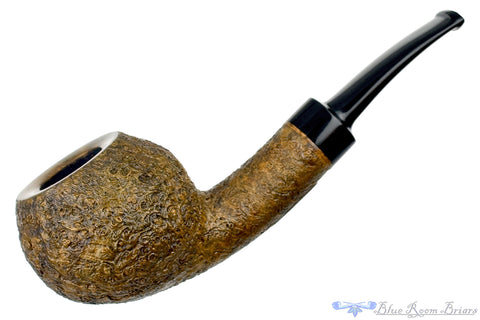 Todd Harris Pipe Sandblast Dublin with Nickel Band