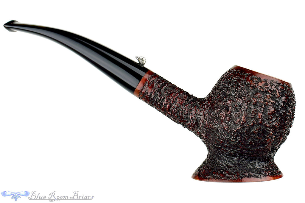 L'Anatra Pipe Rusticated Apple with Pedestal (LAP171498)