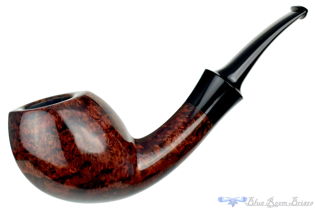 Blue Room Briars is proud to present this Jesse Jones Pipe 5320 1/4 Bent Danish Blowfish