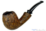 Blue Room Briars is proud to present this Jerry Crawford Pipe 1/2 Bent Ring Blast Egg with Plateaux