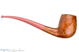 Blue Room Briars is proud to present this Nate King Pipe 510-19 Mid Contrast Smooth Bent Billiard