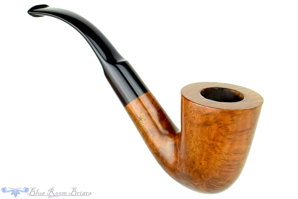 Barontini Amaretto 106 1/2 Bent Dublin Estate Pipe at Blue Room Briars