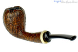 Charl Goussard Pipe 1/4 Bent Ring Blast Acorn with Kudu Horn and Plateau