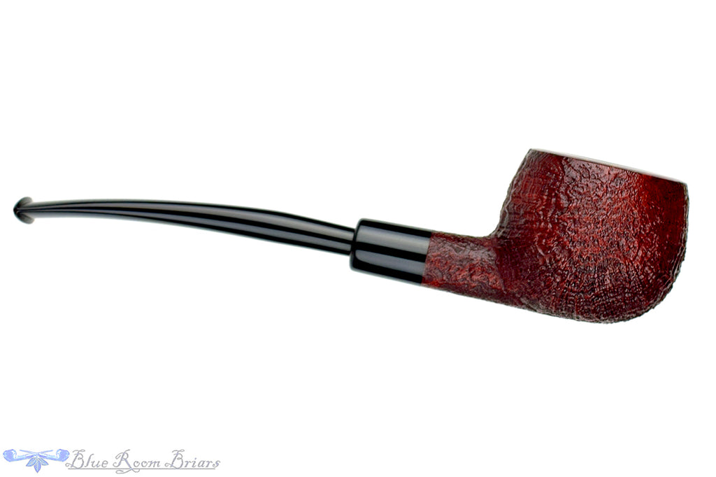 Blue Room Briars is proud to present this Jesse Jones Pipe Sandblast Prince Sitter with Military Mount