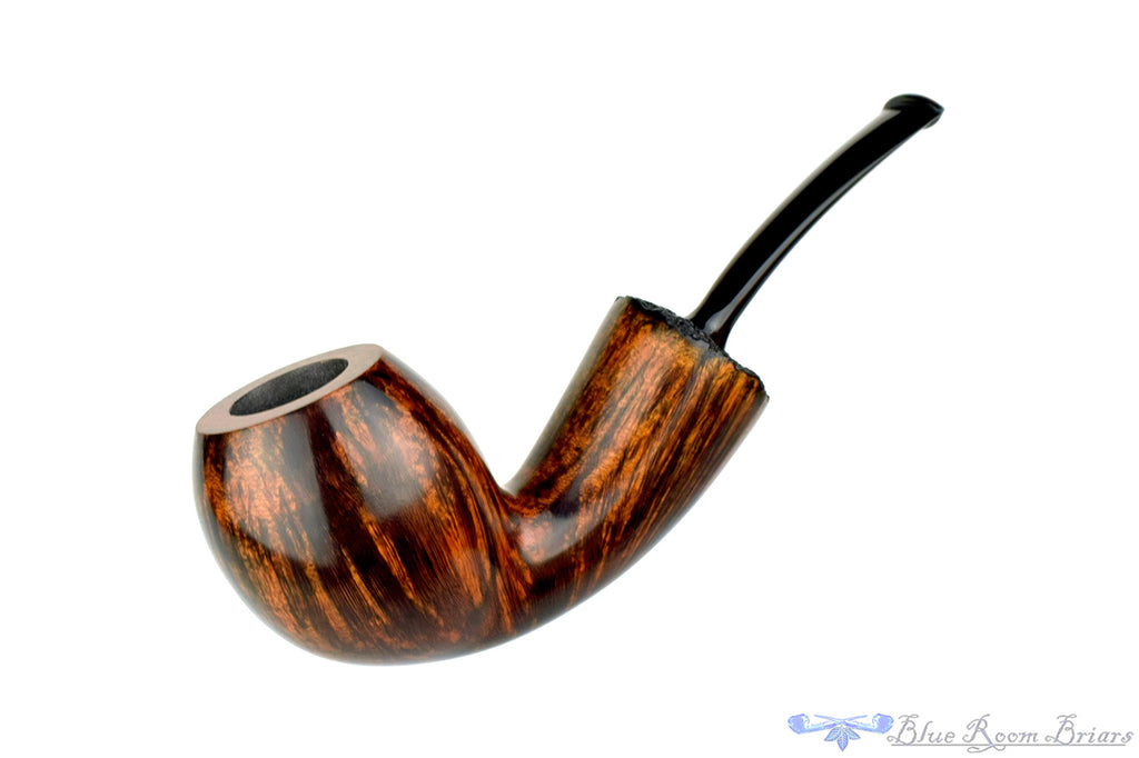 Benjamin Westerheide Pipe 1/4 Bent Egg with Plateau and Military Mount